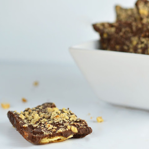 Saltine Toffee Cookies