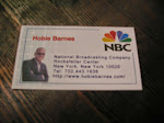 Here's a look at my unofficial NBC business card. I think it's a keeper.