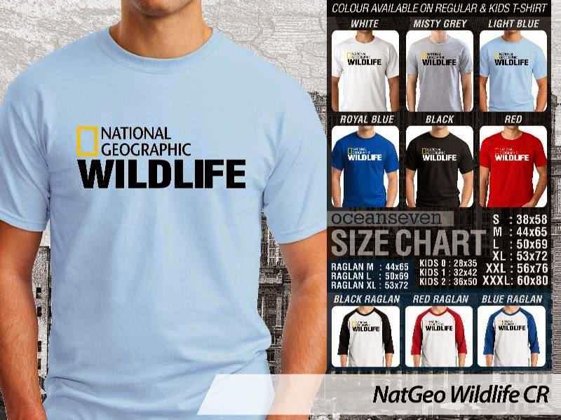 Kaos National Geographic NatGeo Wildlife distro ocean seven