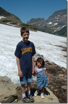 J.M. and Emily-Logan Pass Hike100