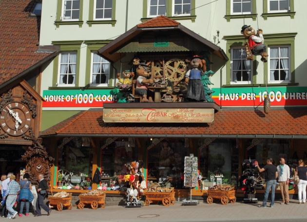 Triberg - the town of Cuckoo clocks - Germany