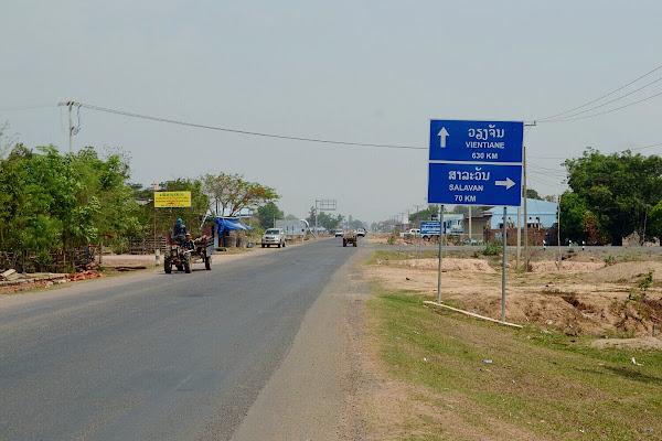 лаос дорога трасса шоссе