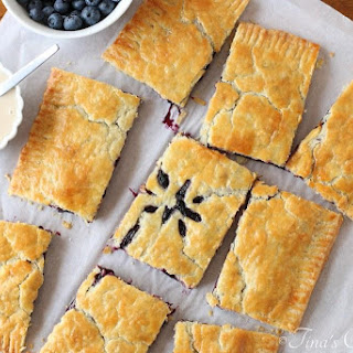 Giant Blueberry Hand Pie
