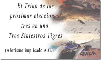 Trino - Tres Tristes Tigres - Aforismo Implicado AG