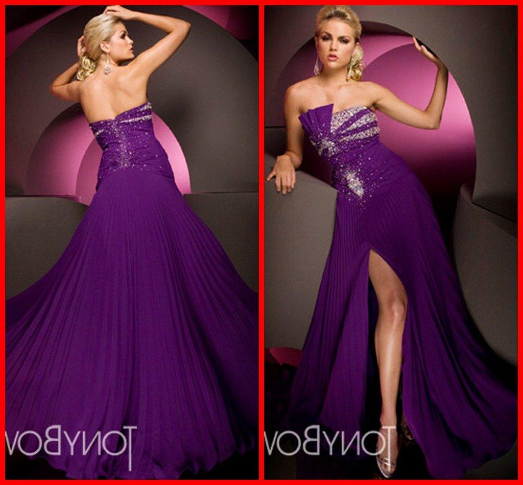 Perfect Strapless Pleated