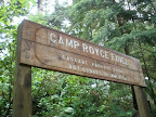 Camp Royce-Finel is located on the North end of Cullaby Lake near Astoria and Seaside, Oregon.