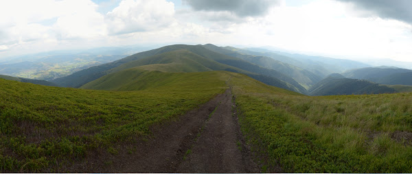 Панорама карпаты горы