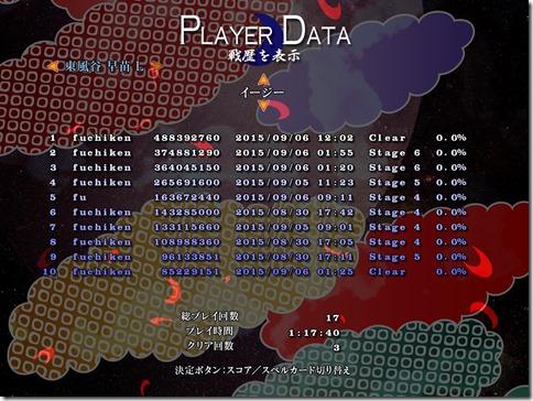 東方紺珠伝 ~ Legacy of Lunatic Kingdom. ver 1.00a_20150906-120516