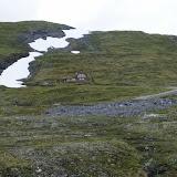 Huisje in de bergen.