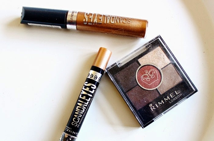rimmel scandaleyes shadow paint rimmel scandaleyes shadow pencil bulletproof beige rimmel 5 pan brixton brown