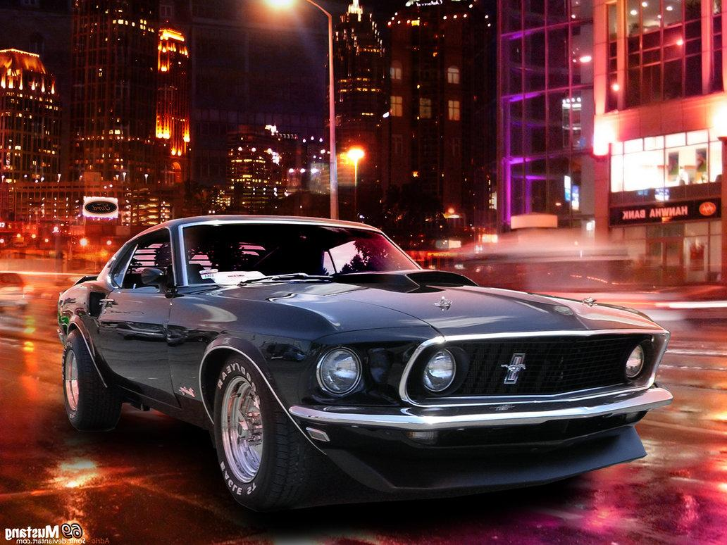 69 Mustang by  sonic on deviantART