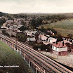 Postcard of Spetisbury Station Site. Photo by Unknown (c1950). © All Rights Reserved.