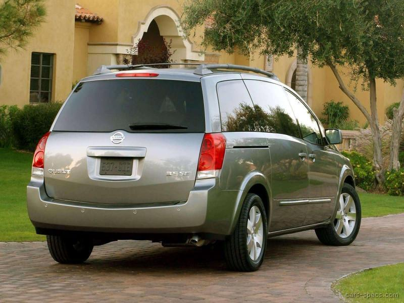 2005 nissan quest minivan specifications pictures prices. Black Bedroom Furniture Sets. Home Design Ideas