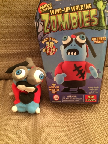 Wind-up Walking Zombies - Halloween Craft