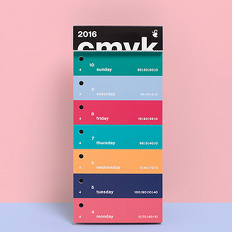 11 ejemplos de diseños de calendarios para el 2016