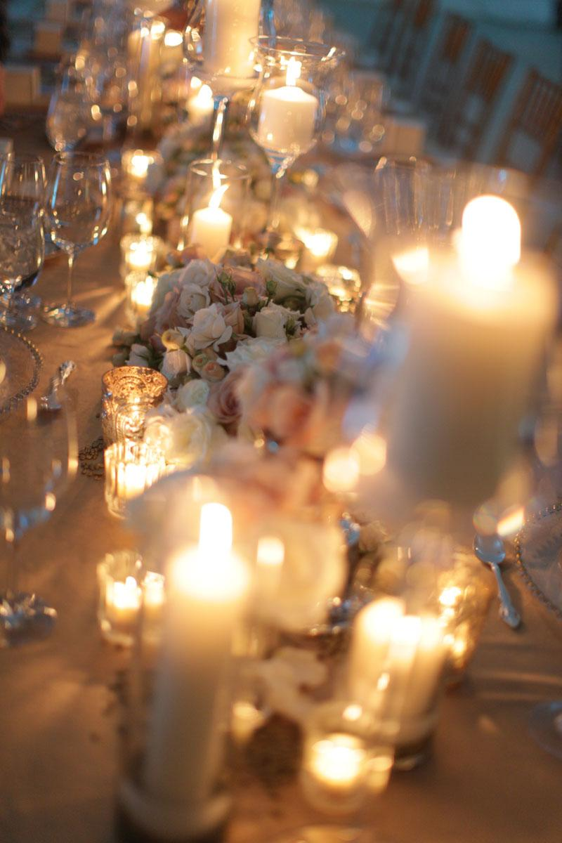 Estate Table Centerpieces