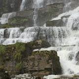 De waterval nabij Reppen.