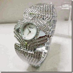 jam tangan Chopard 5602 Rosegold Silver
