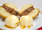 Oatmeal Cookie Baked Apples