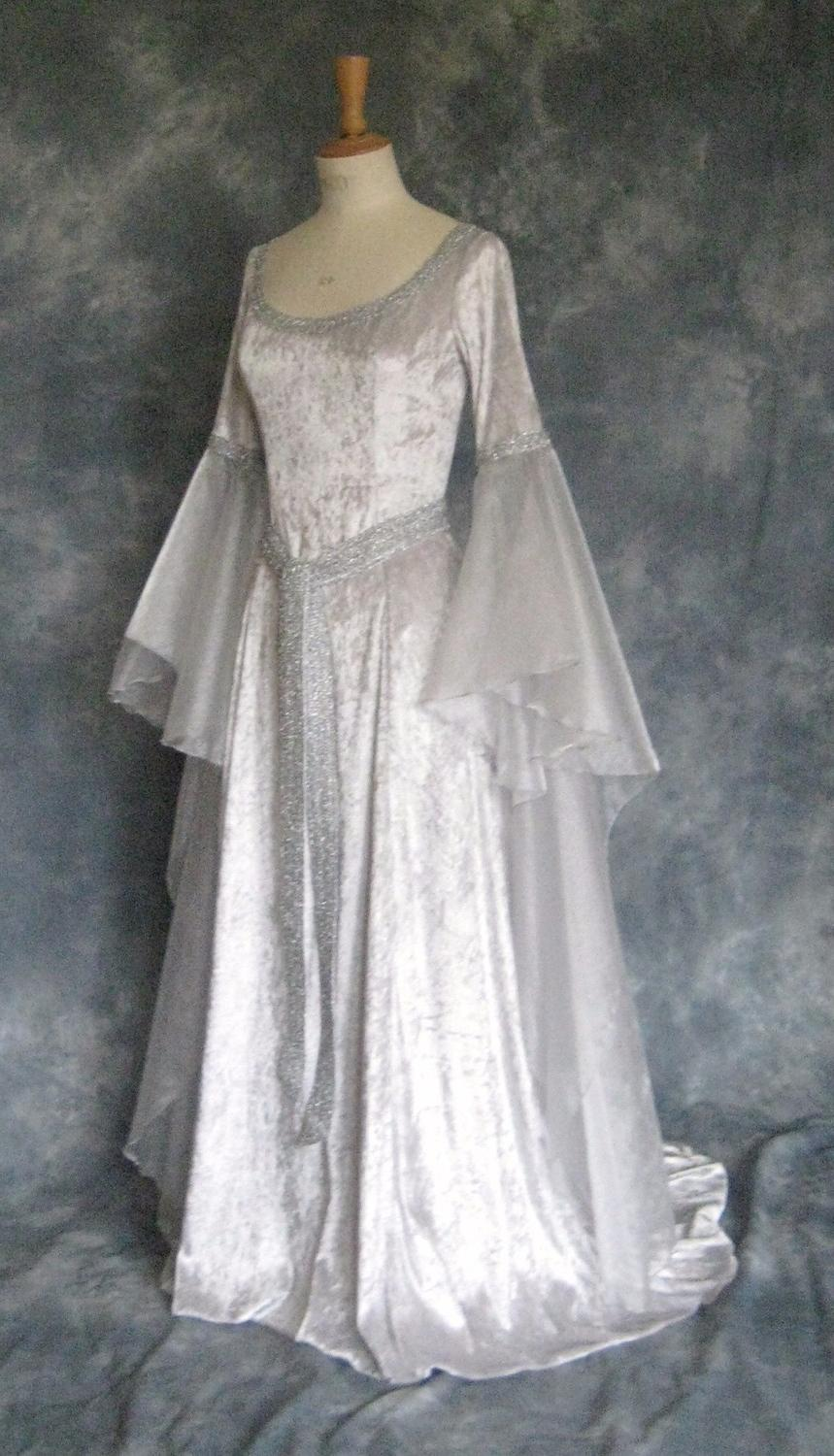 Faery Celtic Wedding Dress