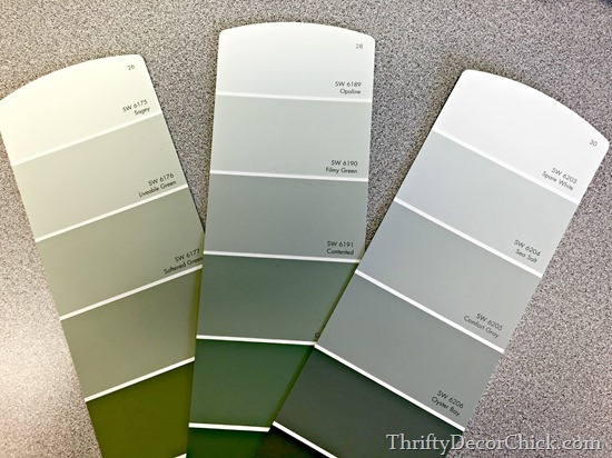 grey green paint colors