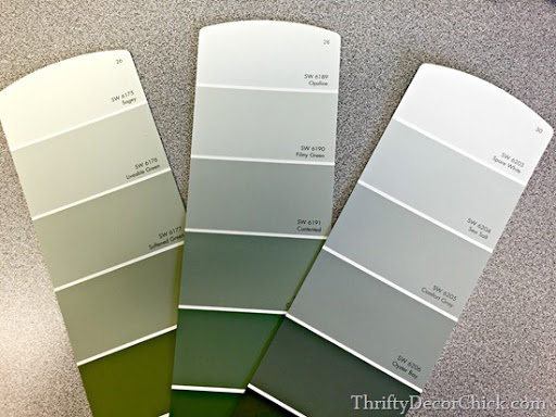 Lovely Grey Green Paint Colors
