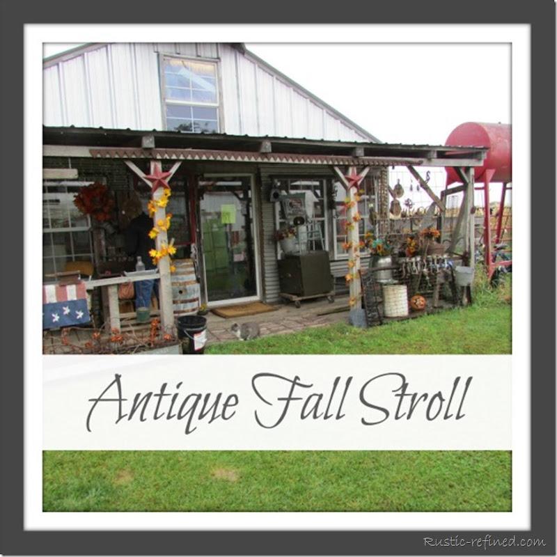 Antique Fall Stroll