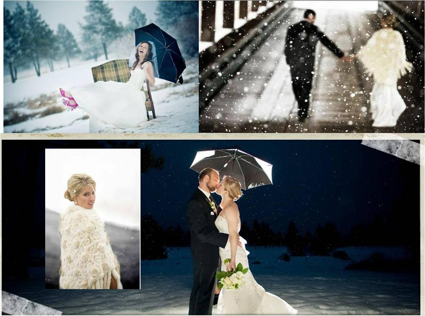 just love winter weddings,