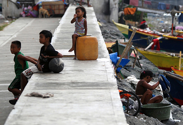 Image of Street Children Caged To Keep The Streets Clean for the Pope's Visit To The Philippines
