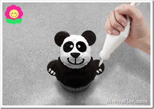 Cupcakes Oso Panda Galletas Oreo