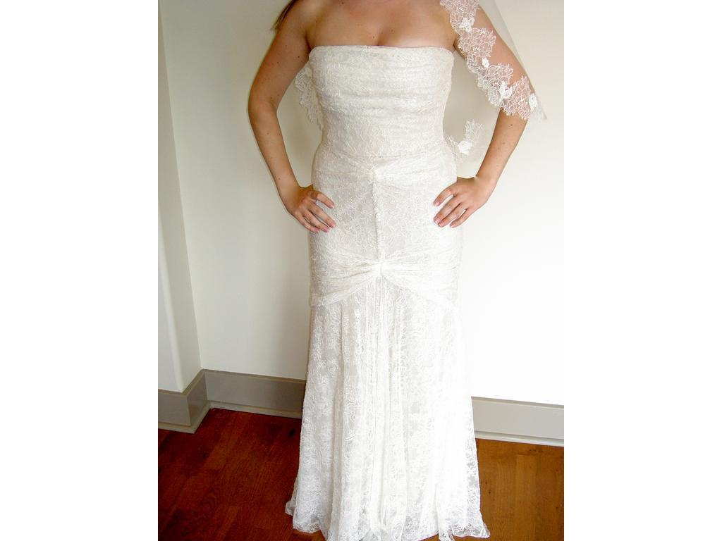 Vera Wang Size 10   Used Wedding Dresses   PreOwnedWeddingDresses.com