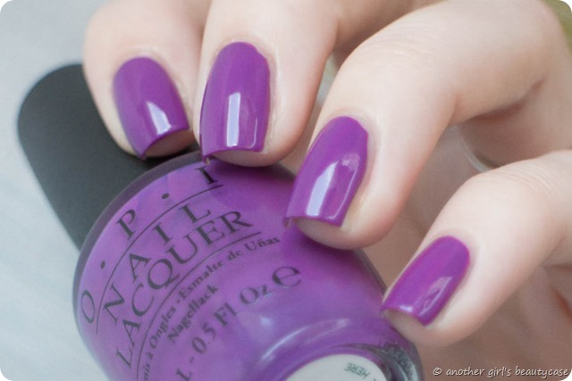 LFB Lila Volet Lolac OPI Bouquet of Violets Swatch Creme-4