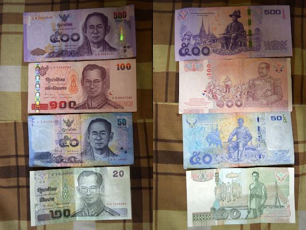 тайские деньги баты валюта таиланда