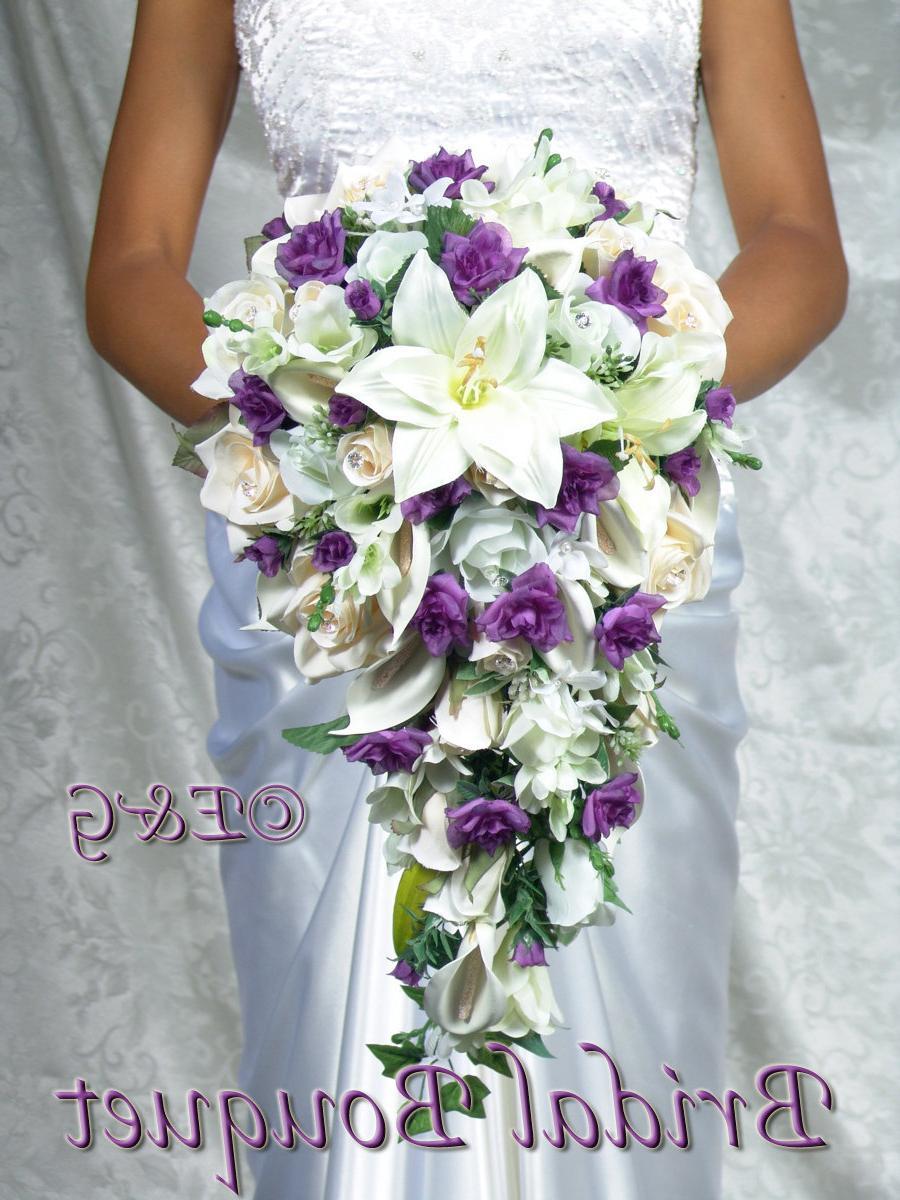 bridal bouquet package silk