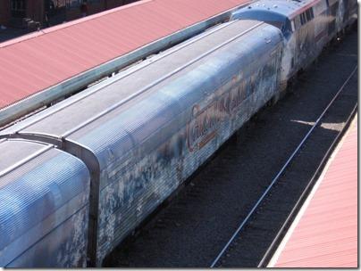 IMG_7633 Christmas Carol Train Car MRLX #801101 at Union Station in Portland, Oregon on July 1, 2009