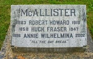 McAllister-marker