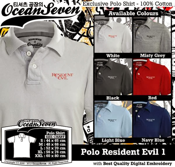 POLO Resident Evil Logo distro ocean seven