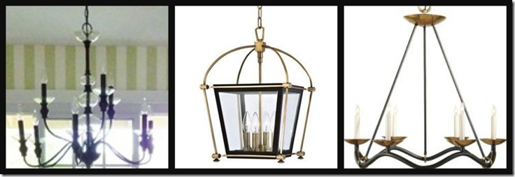 Ribbet collage Next House dinette chandelier c