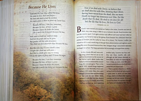 Hymns in Gaither Homecoming Bible[5]