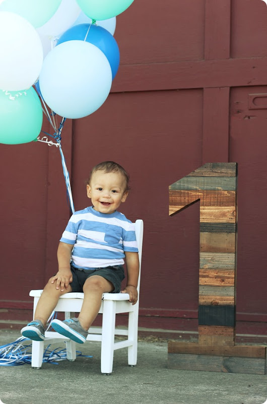 Lennox's first birthday pics
