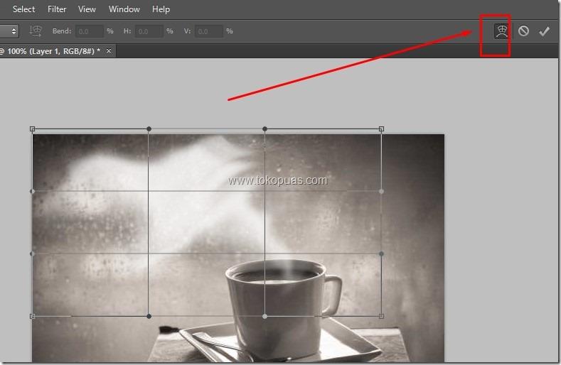 trik membuat efek asap putih photoshop trik