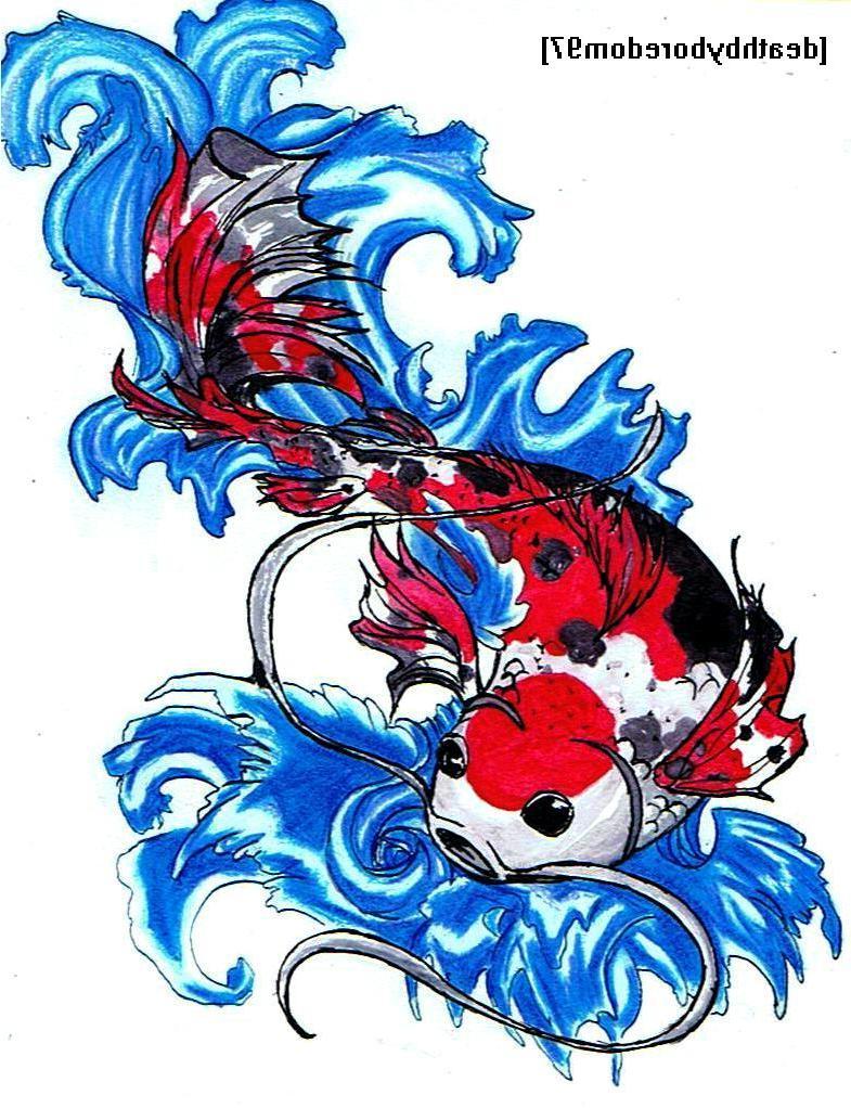 Koi Fish Tattoo By koi fish