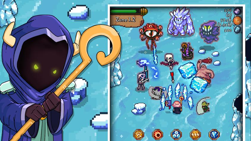 Tap Wizard RPG: Arcane Quest Screenshot