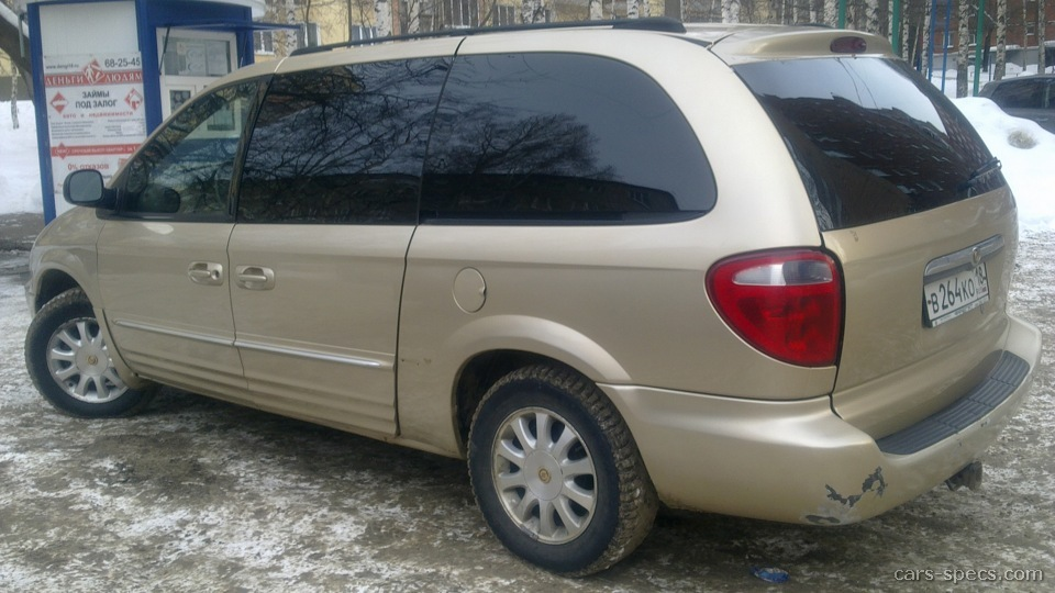 2003 chrysler town and country minivan specifications pictures. Cars Review. Best American Auto & Cars Review