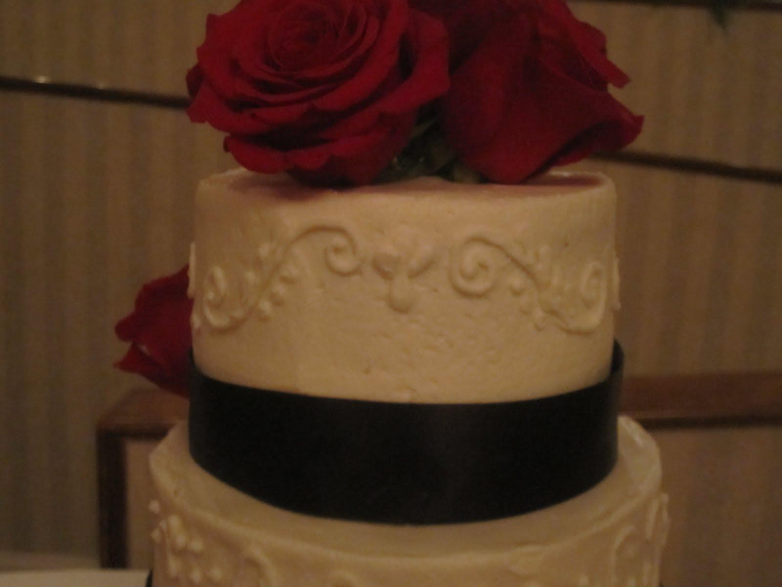 Black Ribbon Filigree Wedding