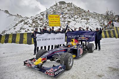 Нил Яни и Red Bull Racing на высоте в Кашмире