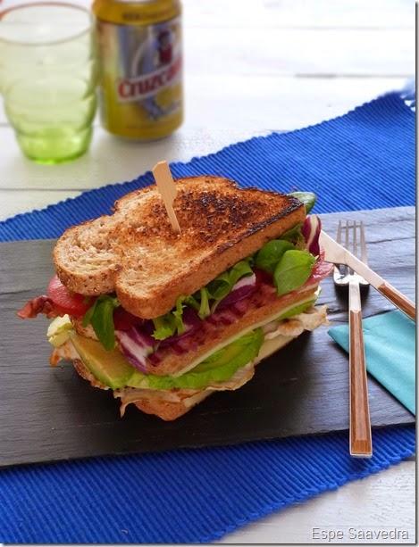sandwich pollo aguacate espe saavedra