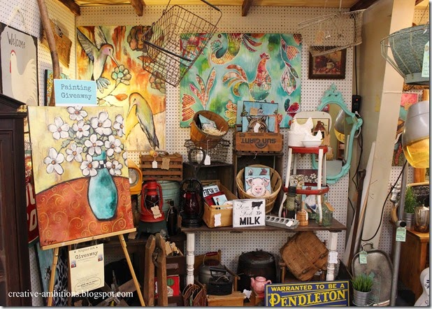 Kjoyner Art Creative Ambitions Booth