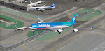 In my best Sam Chui moment, Tahiti 1 is captured lifting off LAX's runway 25R