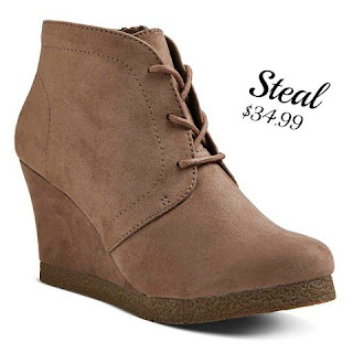 Target Terri Lace Up Booties